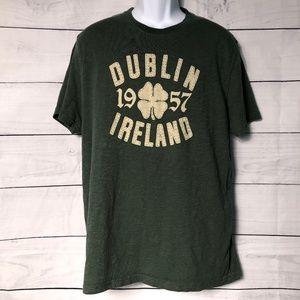 LUCKY Brand Graphic DUBLIN IRELAND TShirt - L